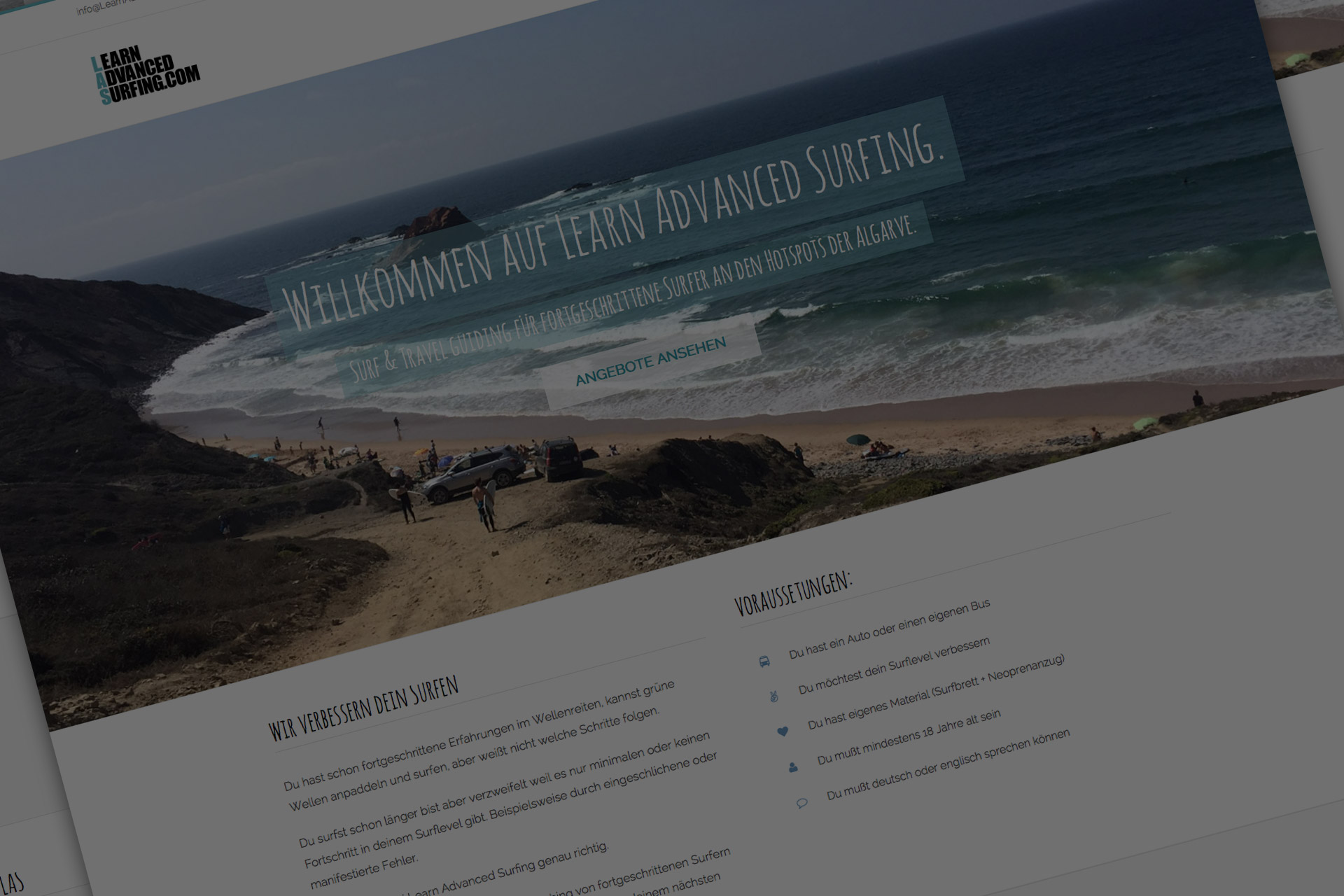 Dein Surfen verbesser?