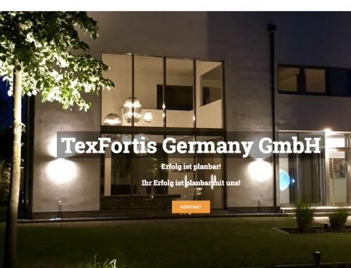 Website für Texfortis