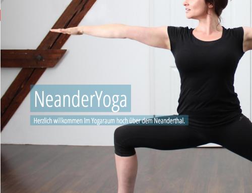 Website für NeanderYoga