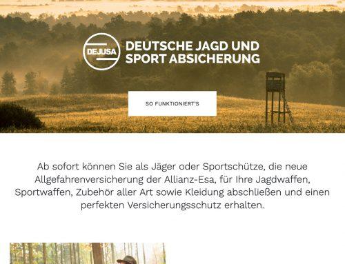 Website für DEJUSA